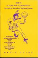 1978 Alcorn State University College Basketball Press Media Guide