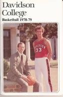1978 Davidson College College Basketball Press Media Guide