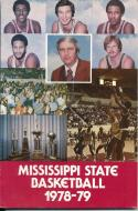 1978 Mississippi State College Basketball Press Media Guide