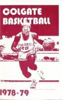 1978 Colgate College Basketball Press Media Guide